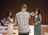Répétions avec Jean-François Auguste et la comédienne taïwanaise Yilin Yang