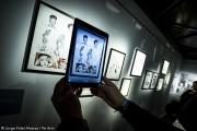 Des fantômes apparaissent dans l'exposition en  réalité augmentée